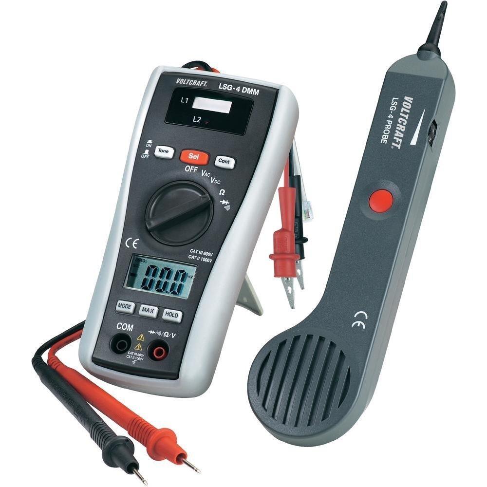 kabelsucher voltcraft multimeter vielfachmessgerät